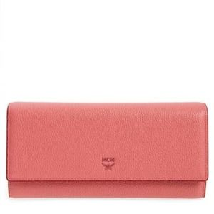 **COMING SOON**  MCM Milla Leather Trifold Wallet